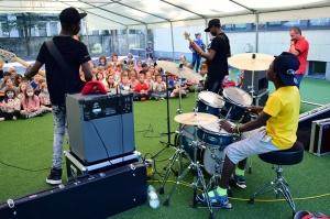 African music school koncert