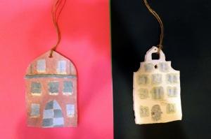 Ceramiczne kamieniczki KL.V