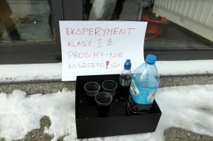 Eksperymenty i zabawy z zimą I B