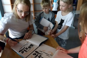Spotkanie z autorem- Karolina Oponowicz