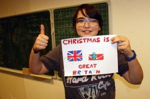 Świąteczne kartki dla Ambasady Brytyjskiej