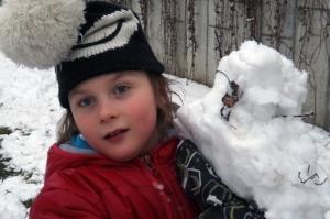 Zabawy na śniegu III B