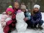 Zabawy na śniegu kl.I B